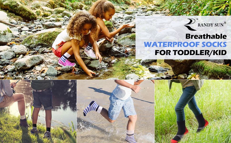 randysun waterproof boys quality socks