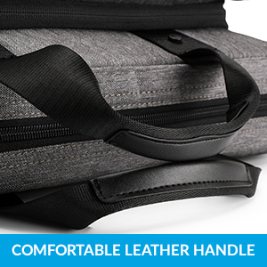 Comfortable Leather Handle
