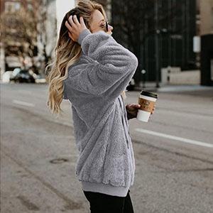 Gray hoodies SweatShirt