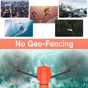 EVO II Pro Drone Camera No Geo Fencing