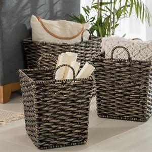 Natural Blanket Basket