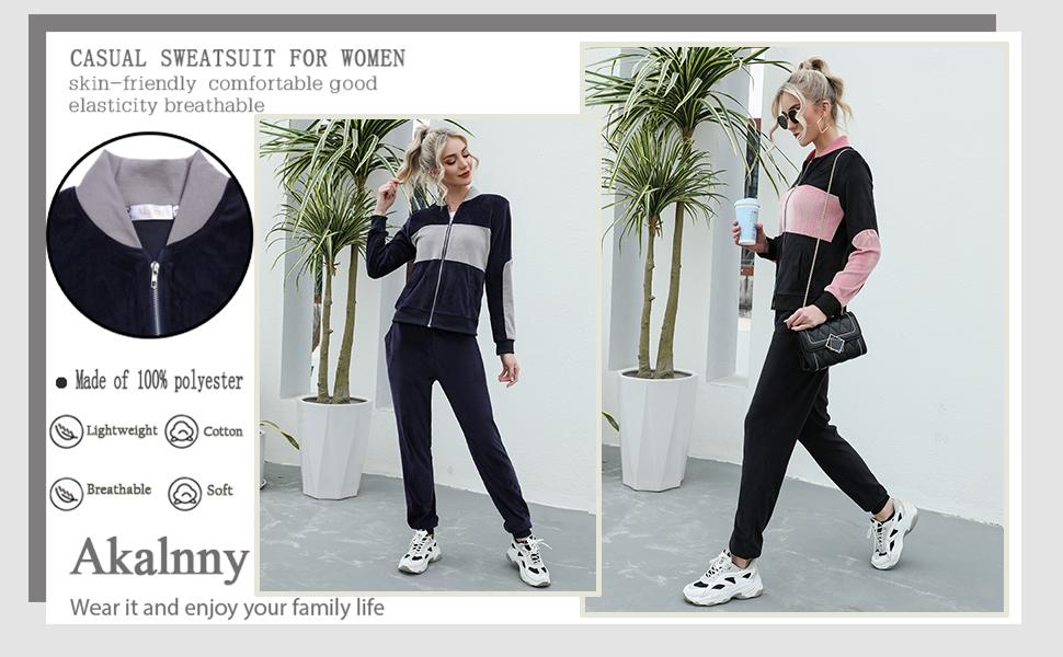 Casual Sweatsuit for Women