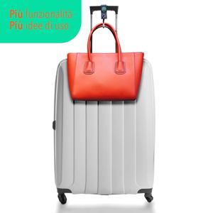 gancio porta borse, gancio valigia, moschettone porta borse