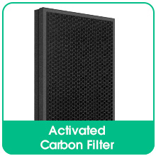 Charcoal-Based Activated Carbon Filter