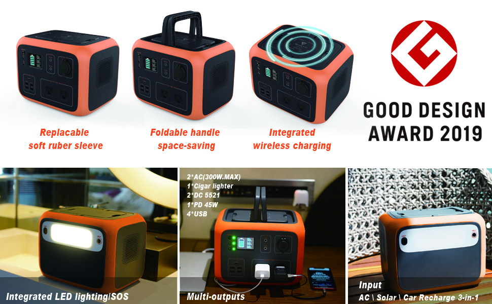 solar power generator portable power station ac outlet power station power outdoor