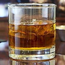 11oz Capacity Whiskey glass