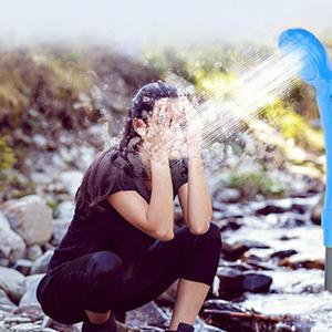 ducha acampar al aire libre