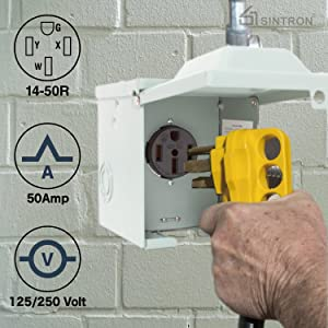 Sintron RV Power Outlet Box