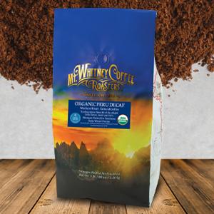 Organic Swiss Water Decaf Coffee from Peru Ground coffee