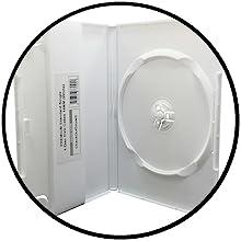 white dvd cases