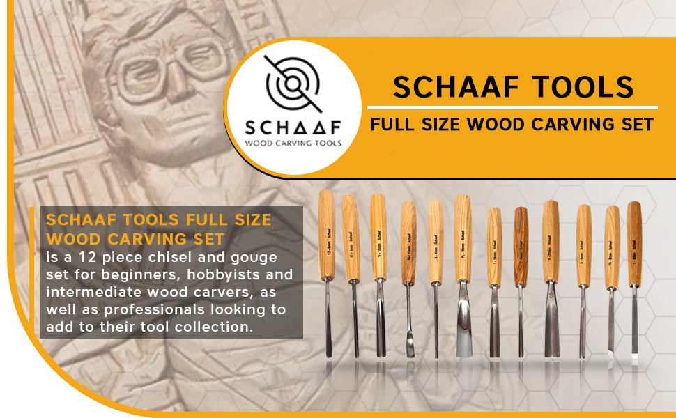 Amazon Com Schaaf Full Size Wood Carving Tools Set Of 12