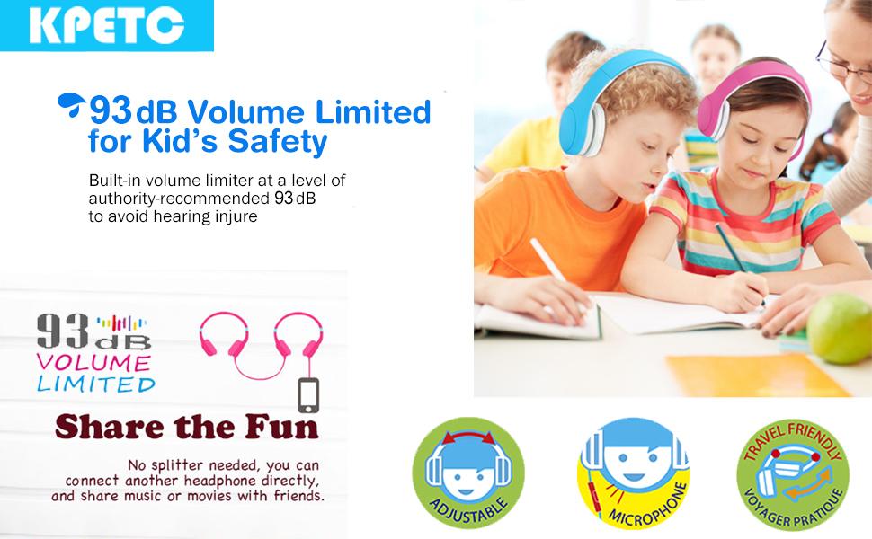 KPTEC kids Headphones
