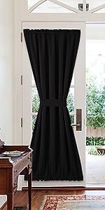 Blackout Door Curtain