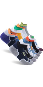 Women's and Men's Cushion Low Cut No Show Cotton Tab Athletic Socks