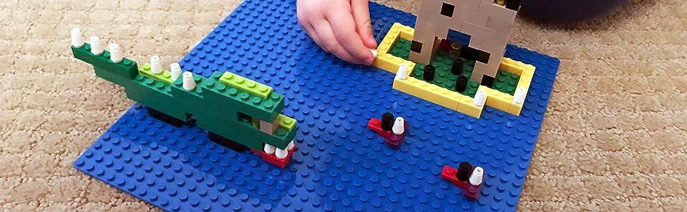 Lego base plate