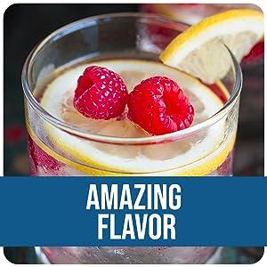 Raspberry Lemon flavor