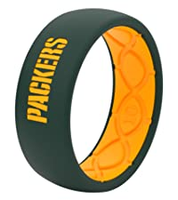 Groove Life Wedding Rings NFL Green Bay Packers