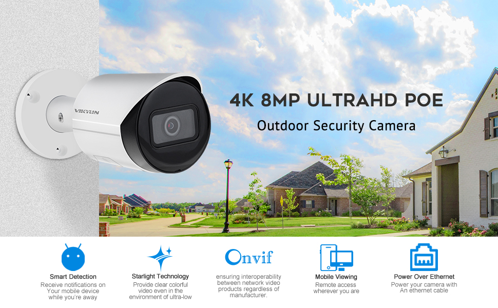 dahua ip camera 4k 8mp poe surveillance camera 2.8mm outdoor security camera network cctv