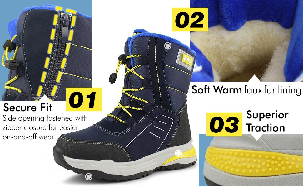 Hawkwell Snow Boots Advantage