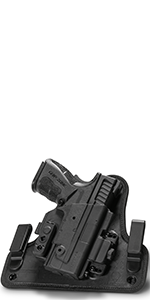Alien gear holster iwb clips springfield xds custom molded grip adjustable retention ride height sig