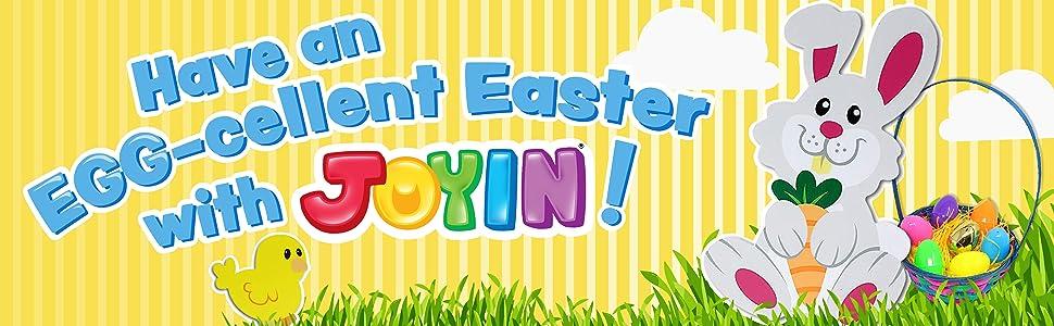 "JOYIN 12 Pieces 3"" Wooden Egg Shakers Maracas Percussion Musical"