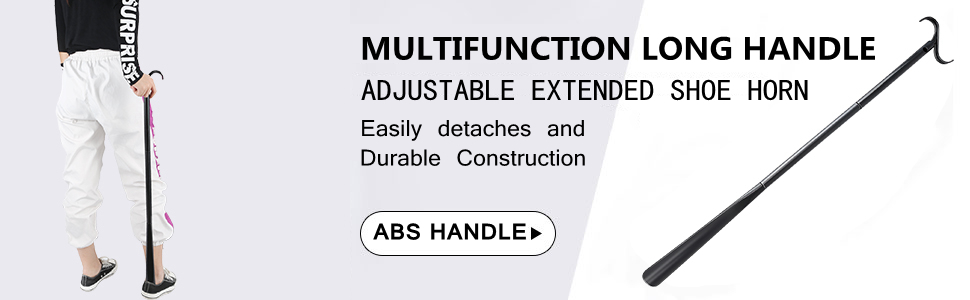 Details about  /Extendable Shoe Horn Easy Grip Handle Long Remover Flexible Stick Tool BL