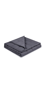 weighted blanket 15 lbs adult soft queen size full cotton breathable glass beads 60x80 pound