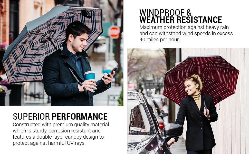 weatherproof weather proof wind proof windproof strong quality umbrella storm