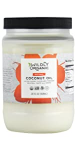 Organic refined coconut oil frying sauteing deep frying mct oil no coconut flavor or smell