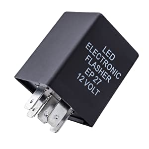 10-Second Time Delay Relay Module, 5-Pin 12V 30A SPDT Compatible with Lighting LED Light Bar