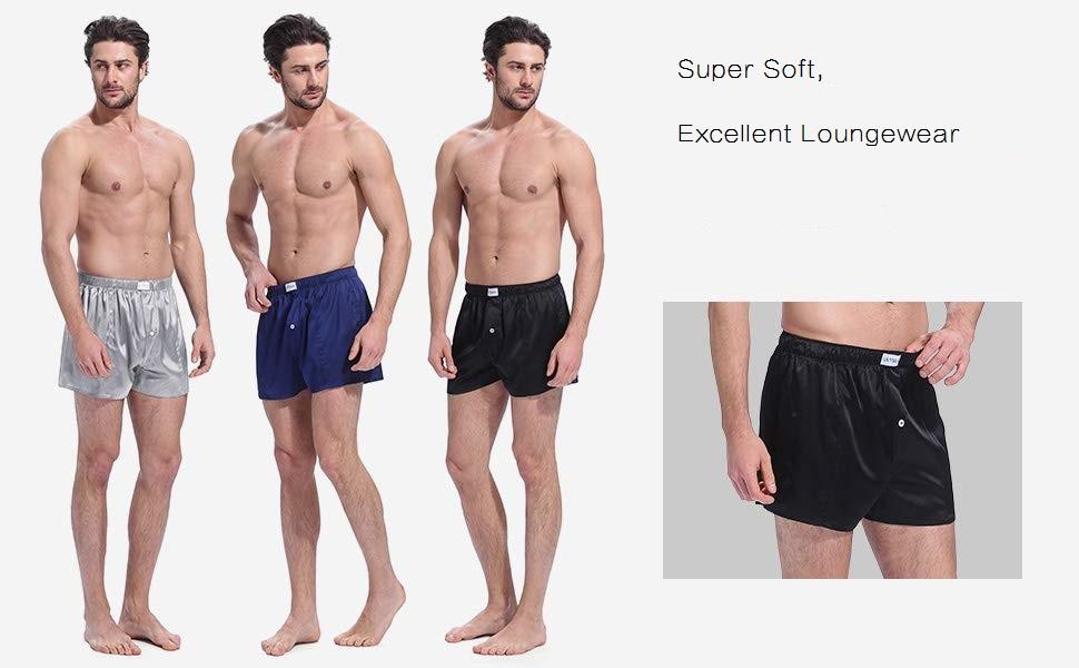 silk boxers for men
