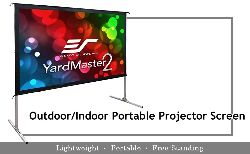 projector screen projection screens outdoor outside portable backyard yard