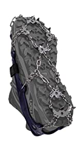 Hillsound Trail Crampon Ultra Ice Traction Cleats Crampons Stainless Steel Snow Grips