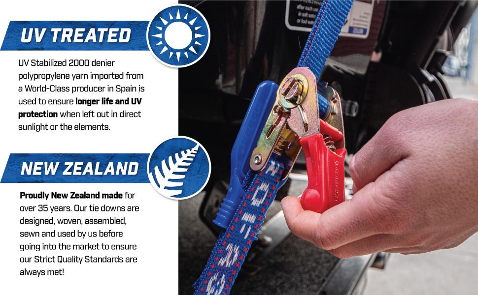 aerofast jetski ratchet tie down strap