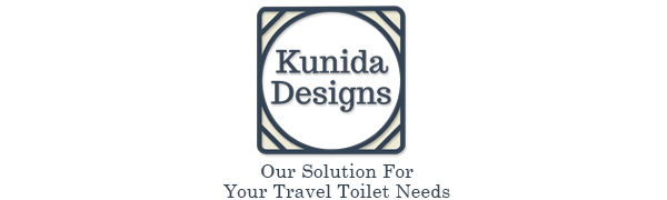 kunida designs portable camping toilet chair commode hiking travel bucket