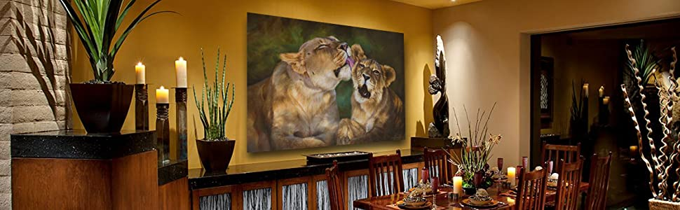 bath time african lions dining room staging amazon banner