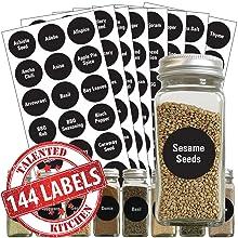 Preprinted Chalkboard Spice Label Set