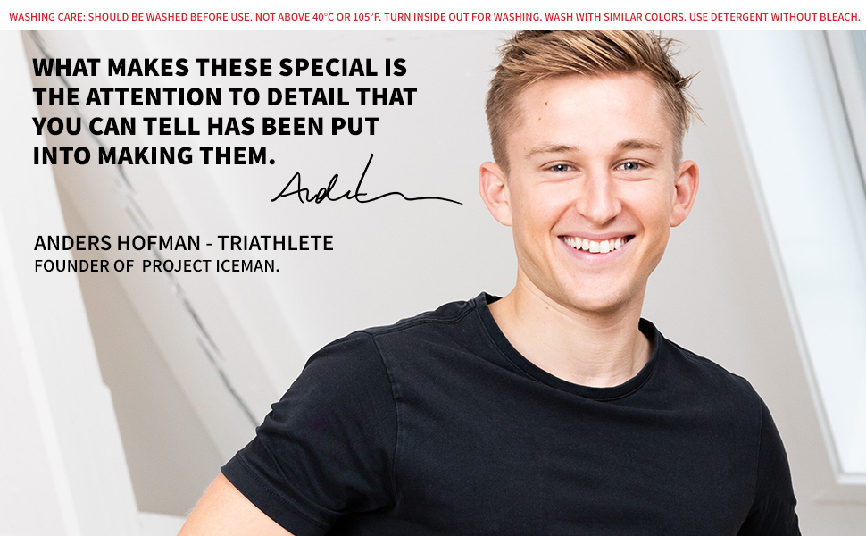 Anders Hofman triathlete