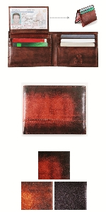 Mens Bifold with Removable ID