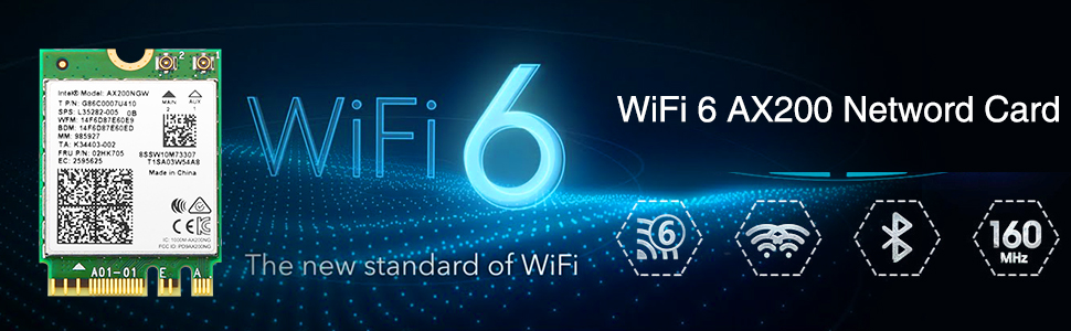 wifi 6 network card