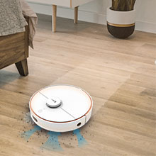 Smart sweeping and mopping