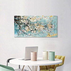 abstract flower pictures wall decor