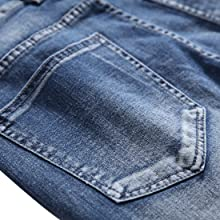 skinny jeans for men slim fit blue biker holes hip hop straight tight ripped distressed frayed moto
