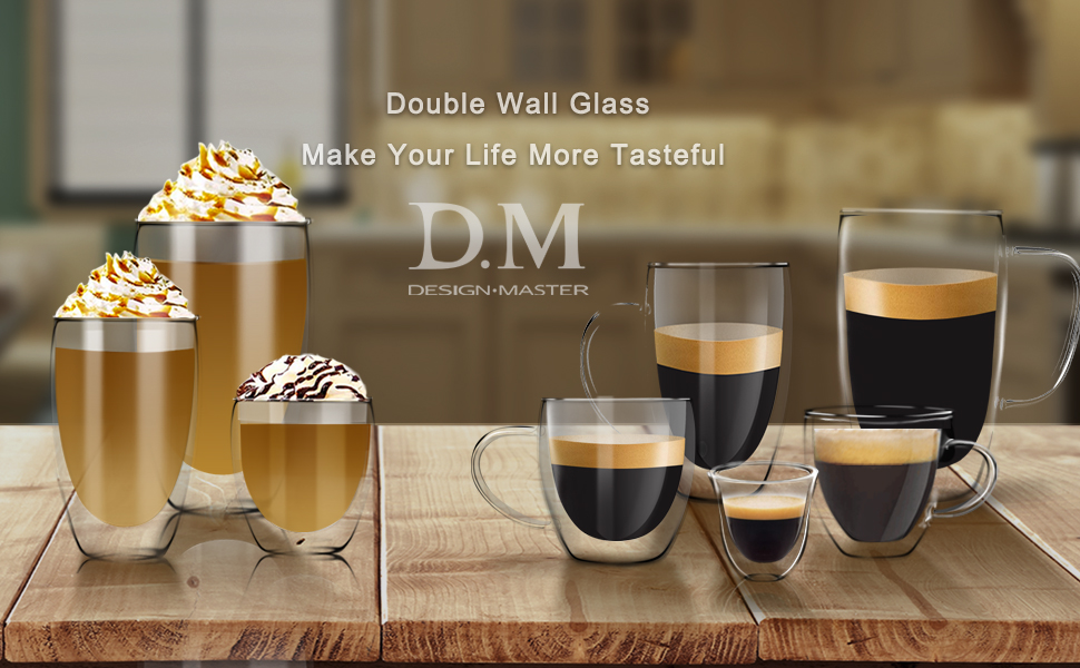Suitable for coffee latte espresso cappuccino tea and cold or hot beverage
