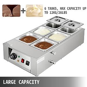 tempered chocolate machine