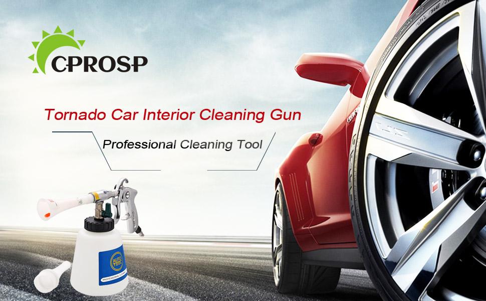 CPROSP High Pressure Tornado Car Interior Cleaning Gun