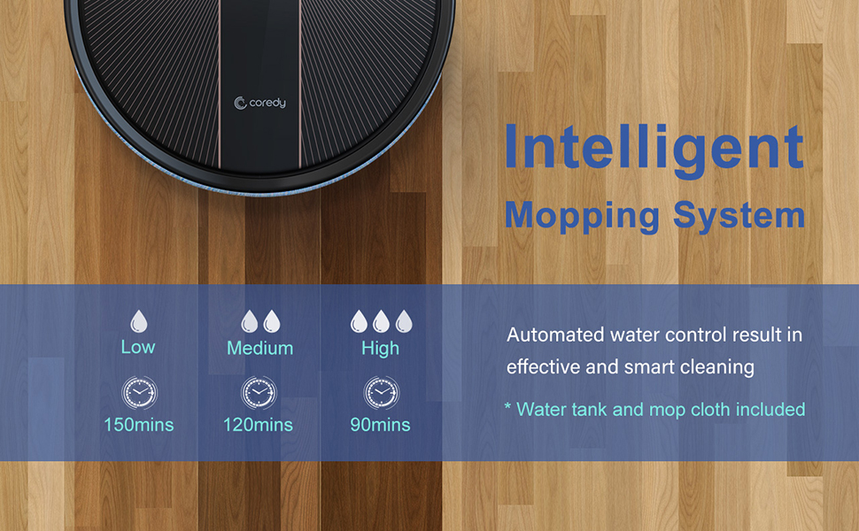 R750 robot vacuum cleaner and mop
