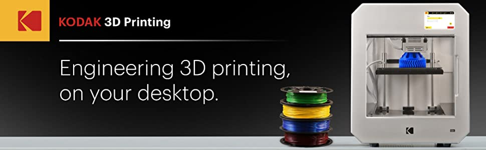 3d printing 3d filament kodak engineering pla abs tpu