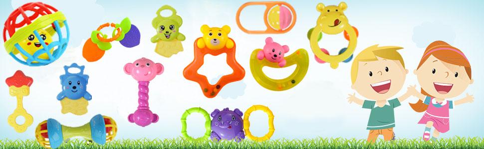 rattle set for babies