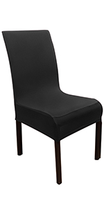 black chair cover dining chair seat cover chair slip cover wedding chair cover chair back cover